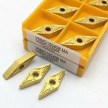 VNMG160408 MA UE6020 hartmetall insert CNC hohe qualität drehen einfügen maschine werkzeug teile tool VNMG 160408
