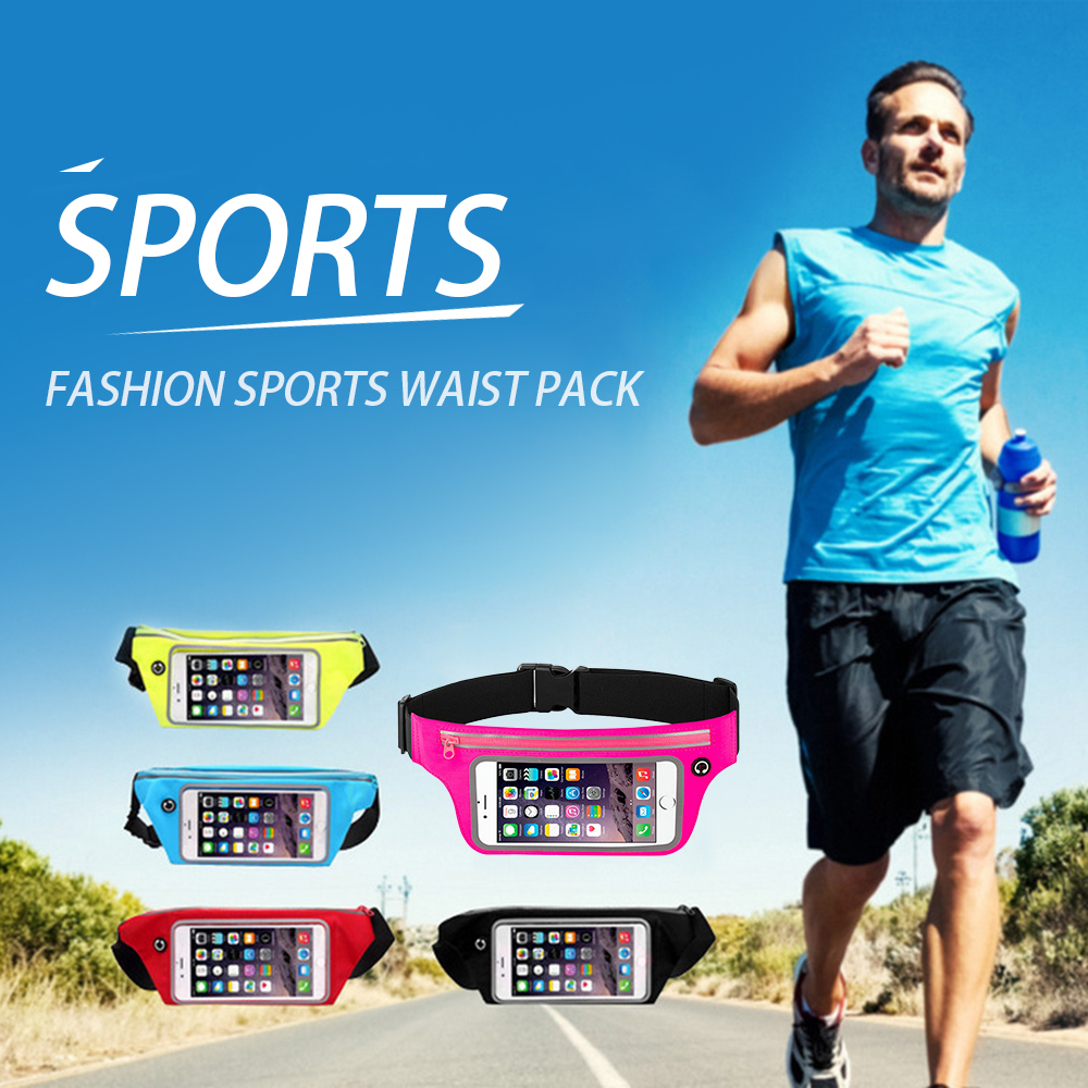 Mobile Phone Touch Screen Outdoor Sporting Waist Bag