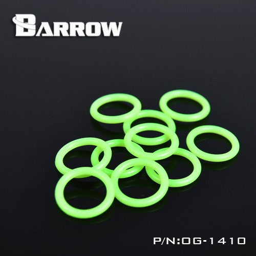 Barrow OBL / OG, Silicone O-rings, For G1 / 4 Interface, For OD14 / 16mm Fittings, Water Cooling Practical Accessories