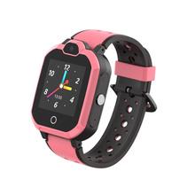 Smart watch dla dzieci połączenia wideo GPS WIFI SOS bezpieczne wodoodporna bluetooth elektroniczne zabawki z opcją kupna unisex zabawka dziecięca walkie-talkie tanie tanio Metal Electronic watch Intercom Interaktywne 12-15 lat