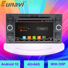 Eunavi 2 Din Android Car Radio DVD Player For Ford Mondeo S-Max Focus C-MAX Galaxy Fiesta