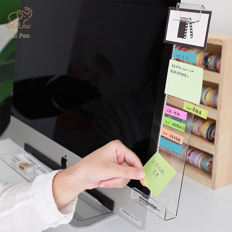 Креативный акриловый монитор, доска для заметок, прозрачная визитная карточка, держатель для телефона, настольный пластиковый держатель, канцелярские принадлежности| |   | АлиЭкспресс - Товары для домашнего офиса