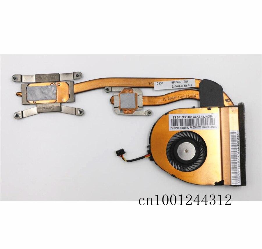 For Lenovo ThinkPad Cooling Fan and Heatsink T460 UMA FRU 00UP186 00UP187