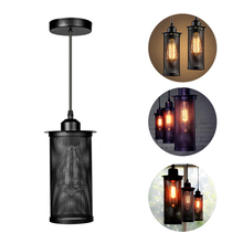 European style industrial style retro iron loft bar creativity diffuse coffee American lamp restaurant personality bar pendant creative industrial wind style pendant light personality retro rope iron cage pendant lamp for restaurant bar clothing store