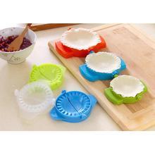 Простой пластиковый пресс клецки инструмент производитель устройство легко DIY плесень кухня