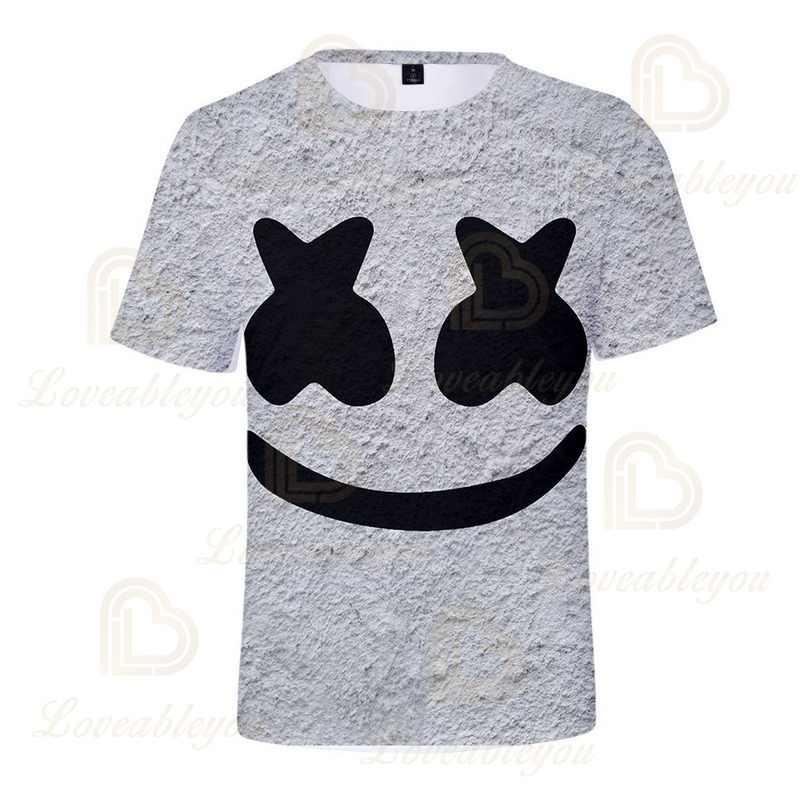 2020 Nieuwe Stijl Dj 3D Print T-shirt Mannen Zomer Top Grappige Korte Mouw T-shirts Voor Kinderen 110-160 zomer Tops