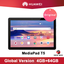 Huawei MediaPad T5 10.1 Inci Tablet PC Kirin 659 Octa Core 1080 P Full HD Baru Asli Tampilan Android 8.0 sidik Jari Membuka(China)