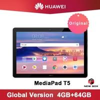 Huawei MediaPad T5 10.1 inch tablet PC Kirin 659 Octa Core 1080p Full HD New Original Display Android 8.0 Fingerprint unlock