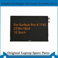Oryginalny wyświetlacz LCD panel wyświetlacza dla Miscrosoft Surface Pro 4 ekran dotykowy ekran LCD Digister 1742 LTL123YL01-007