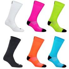 Высококачественные Профессиональные командные мужские женские велосипедные носки MTB велосипедные носки дышащие велосипедные носки уличн...