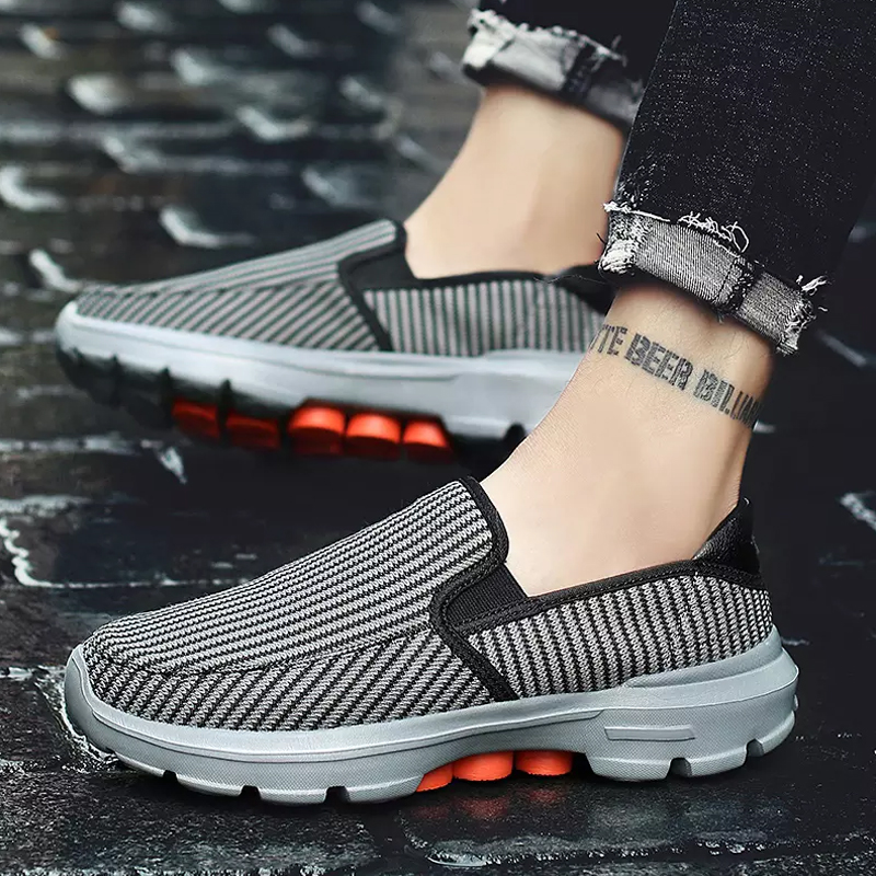 Comfortable Damping Shoes Male 2020 New Men Casual Shoes Flat Lazy Slip On Loafers Shoes Men Large Size 37-45 Zapatos De Hombre