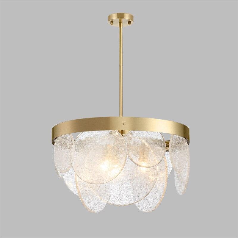 Işıklar ve Aydınlatma'ten Kolye ışıkları'de Modern oturma odası/yatak odası/Minimalist/restoran kolye ışık İskandinav giyim dekorasyon cam top şeklinde asma lamba title=