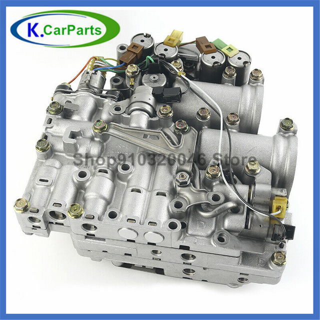 1pcs JF506E 09A JF506-E Gearbox Transmission Solenoid Valve Body Jf506e Jf506e09a for Vw Volkswagen Mk4 Remanufactured 6