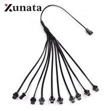 2Pin divisor jst conector para un inversor conectar conector macho a hembra Cable adaptador divisor para tiras LED paquete