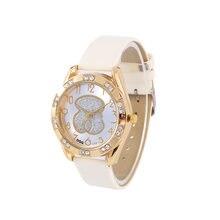 Relojes mujer новые модные брендовые часы с медведем женские