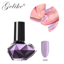 Gelike Peel Off Gel Base Coat UV LED Polish No Need Remover Water Multi-Use Primer Varnish Foundation 2 in 1 Art 10ml