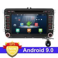 2G RAM Car Multimedia player Android 9.0 GPS 2 Din Car Autoradio Radio For Volkswagen/Golf/Polo/Passat/b7/b6/SEAT/leon/Skoda