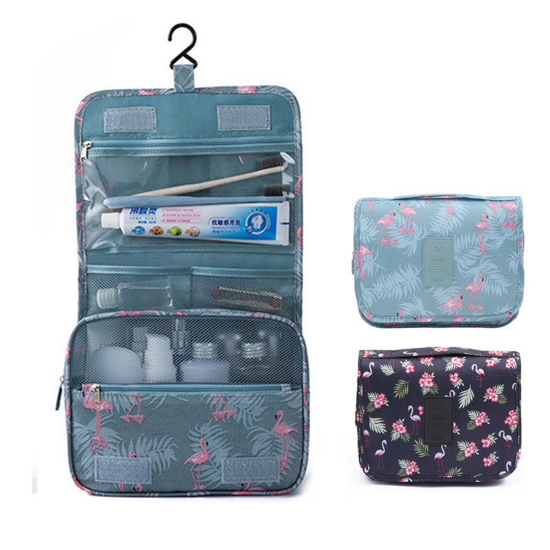 Women Travel Cosmetic Bag Men Hanging Wash Bag Toiletries Socks Briefs Storage Organizer Makeup Bag Cases Travel Accessories Set