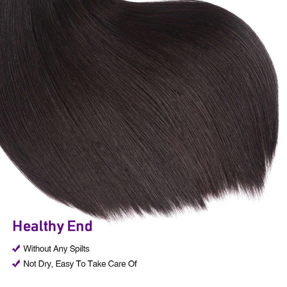 UNice Hair Kysiss Series Straight Peruvian Hair Weave 3 Bundles 8-30 inch Peruvian Virgin Hair Bundle Human Hair Weave