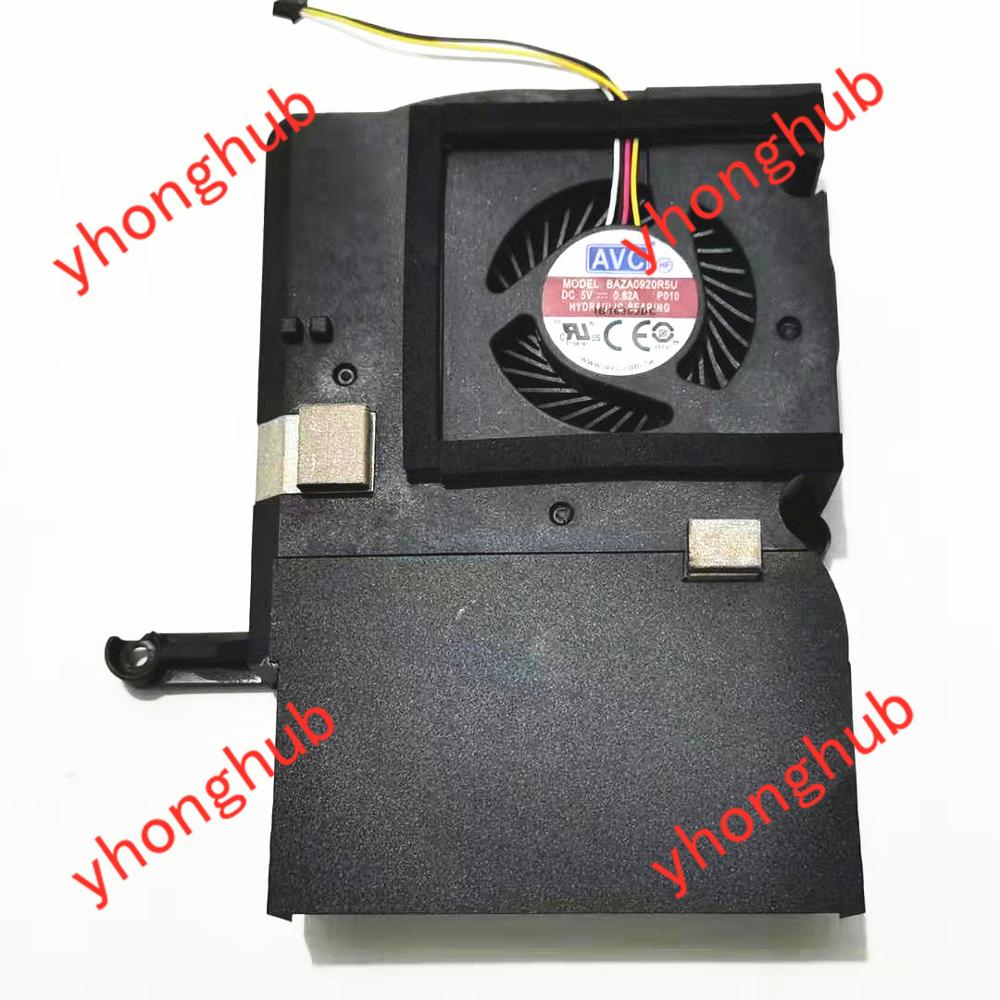 AVC BAZA0920R5U 863669-102 DC 5V 0.82A 4-wire Server Cooler Fan
