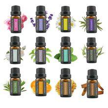 10ml czysty olejek eteryczny roślinny olejek lawendowy róża mięta drzewo herbaciane pomarańczowy olejek aromaterapia masaż do pielęgnacji ciała