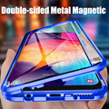 Магнитный металлический чехол для Samsung Galaxy A51 A71 A50 A70 A10 A30 A80 A20 M30 A40S S9 S8 S10 Plus S10E Note 9 8 10 Pro