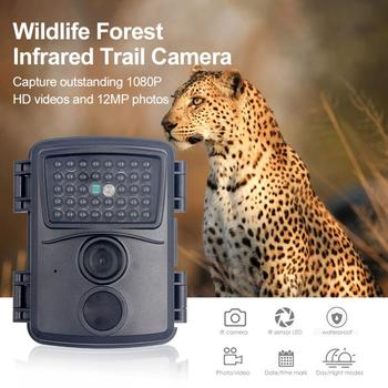 PR600 Hunting Camera 12MP 38 IR LED 3MP Color CMOS FHD 1080P Night Vision 0.8s Trigger Time Wildlife Cameras IP54 Waterproof New 2