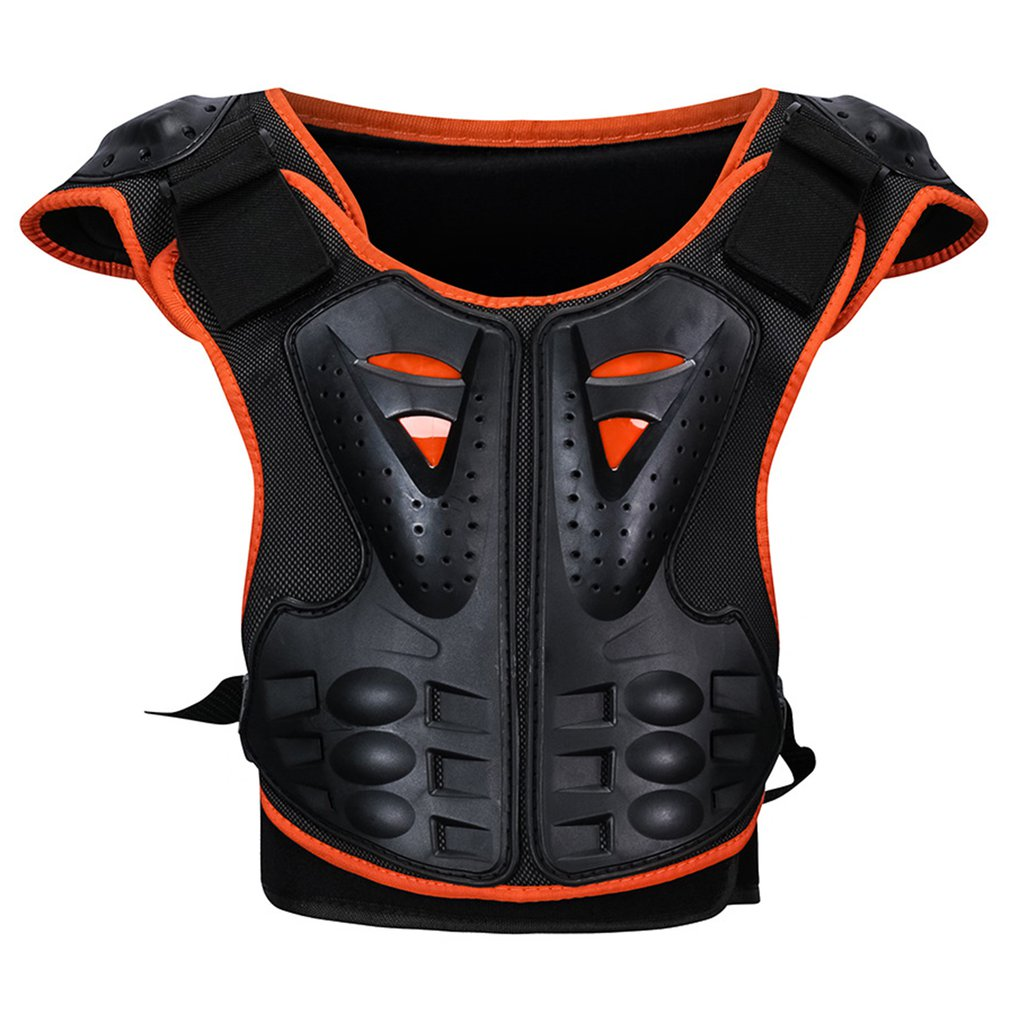 Children's Roller Skating Back Protector Chest Protector Back Night Reflective Armor Children's Riding Armor