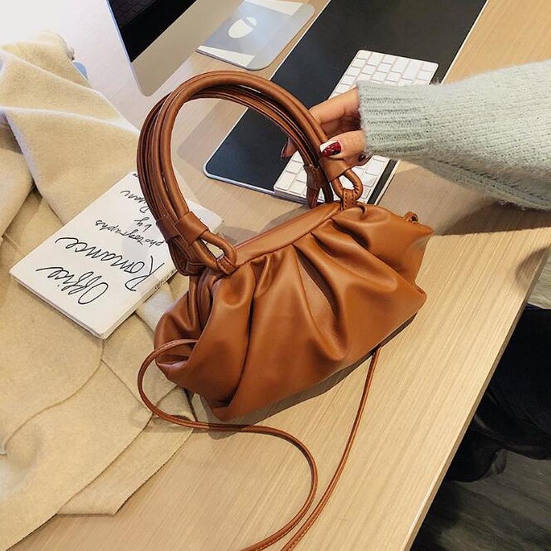 2020Dumpling Ladies Hand Bags Cute Crossbody Purse Fashion Evening Clutch Bags Luxury Handbags Women Bags Designer Dupe Handbags