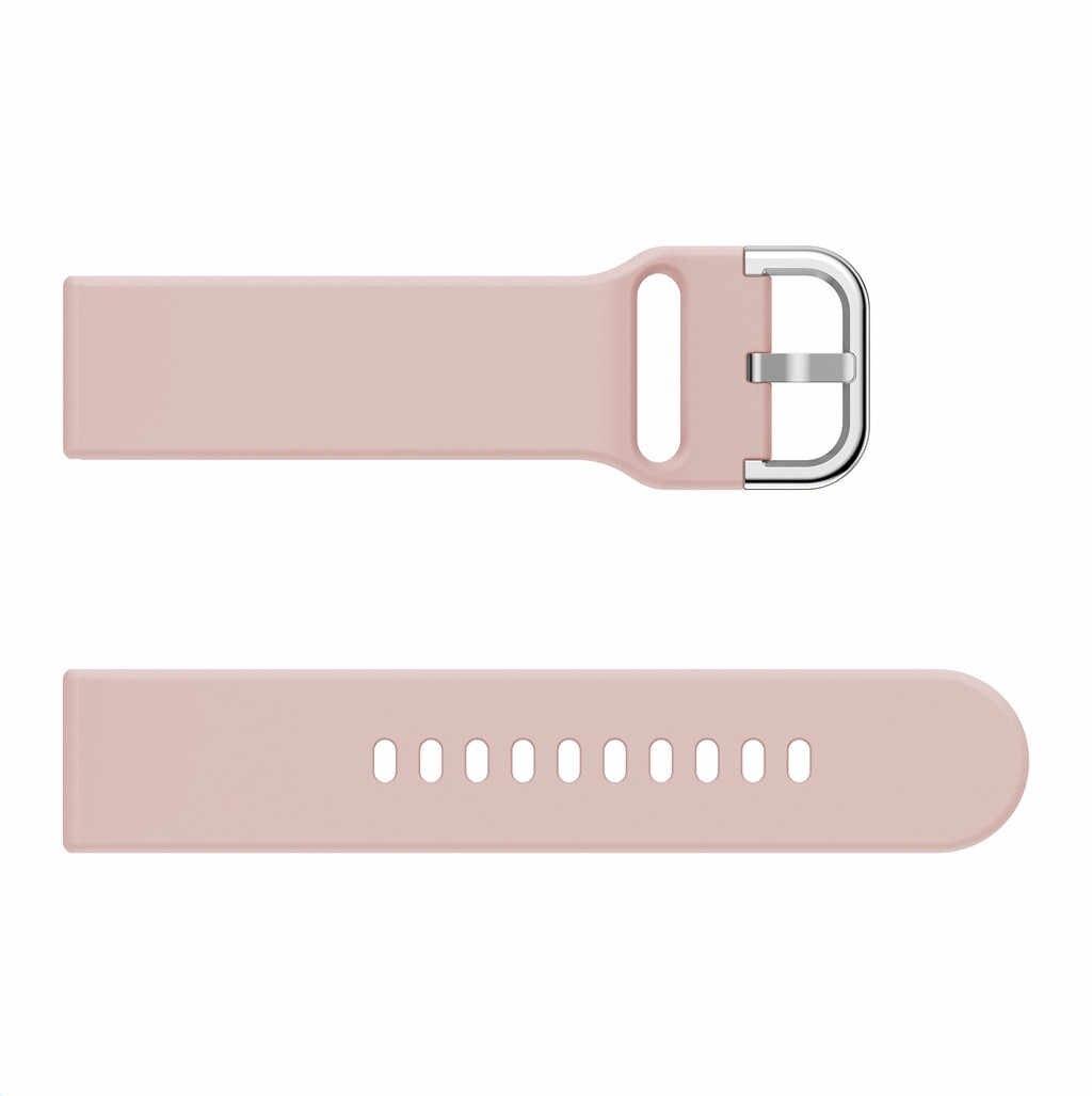 Correa de reloj de silicona correas de repuesto para Xiaomi Huami Amazfit Bip Youth Watch Smart Watch Wristband-L1212