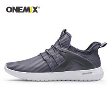 ONEMIX 2019 Men Running Shoes Women Sneakers Super Light High Elastic Soft Outsole Outdoor Jogging Walking Tennis Shoes Loafers(China)