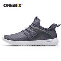 ONEMIX 2019 รองเท้าผู้ชายผู้หญิงรองเท้าผ้าใบ Super Light Soft Outsole วิ่งกลางแจ้งเดินรองเท้า Loafers