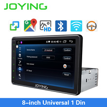 Single 1 din Car GPS Navigation with Mirror Link Glonass 8 HD Universal Android Radio Steering Wheel Control/Camera No DVD