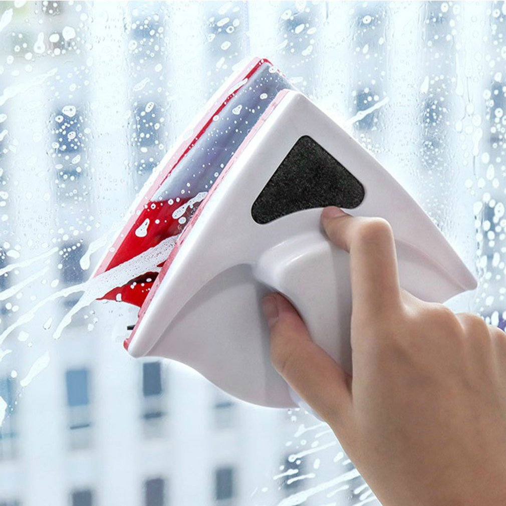 Double Side Glass Cleaning Brush Magnetic Window Cleaning Magnets Household Cleaning Tools Wiper Surface Brushs Shower Screens
