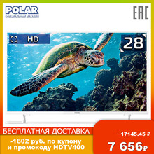 LED Television POLAR P28L34T2C Consumer Electronics Home Audio Video Equipments TV 30InchTv
