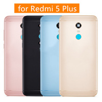 For Xiaomi Redmi 5 Plus Battery Back Cover Metal Rear Door Housing+For Xiaomi Redmi 5 Plus Front Middle Frame Parts