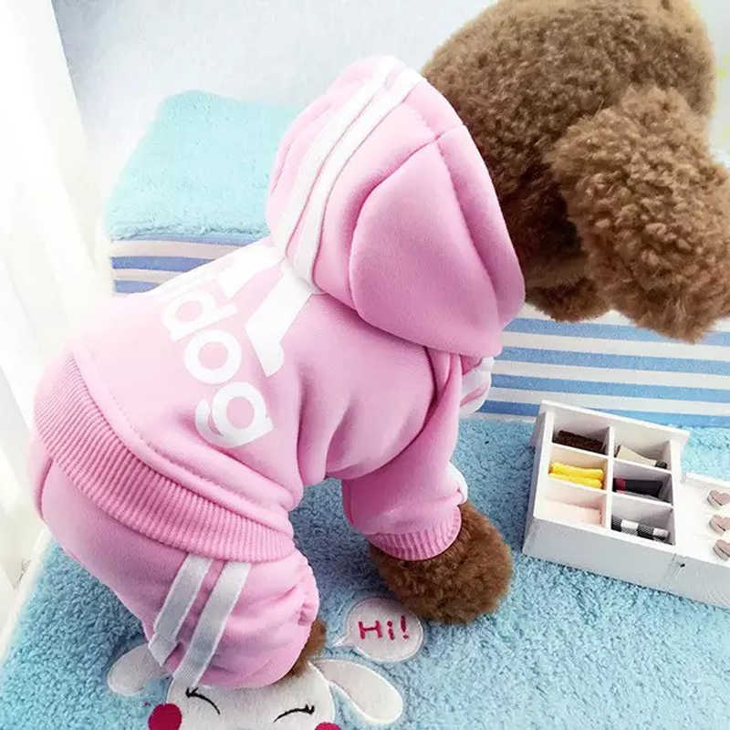 Winter Pet Dog Jacket Coat Warm Clothes for Small Dogs Chihuahua Pug French Bulldog Clothing Puppy Cat Jumpsuits Outfit XS-XXL