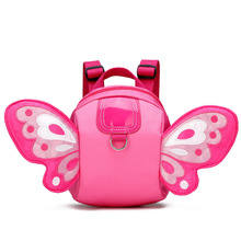 Children's Butterfly Baby Harness Backpack Nylon Children Backpack Anti-Lost