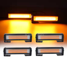 Lightbar Warning-Lights Strobe Fire-Truck Front-Grille Amber White Emergency-Flashing