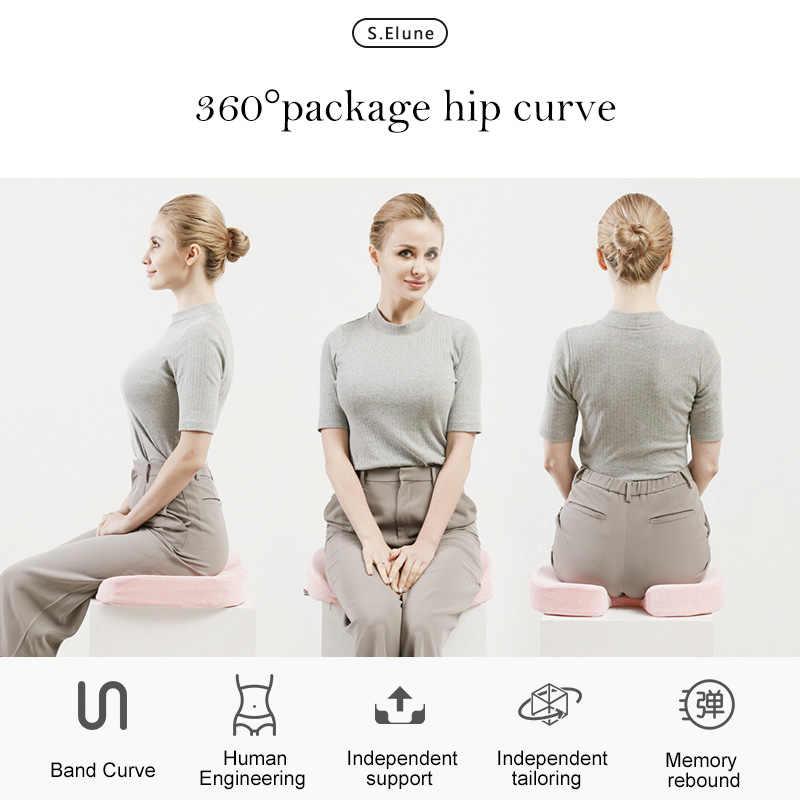 SElune Anti emorroidi cuscino del Sedile di Massaggio Cuscino di Sonno Supporto Per Le Donne In Gravidanza Corpo Sedia Da Ufficio Sedile Pad Coccige Cuscino