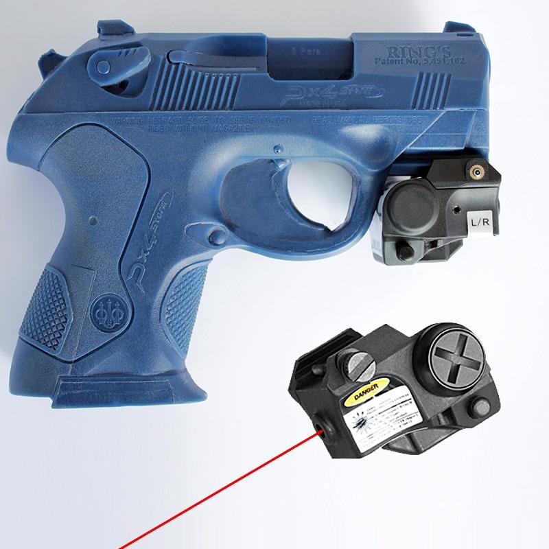 Mira Red Dot Laser Sight Airsoft 11mm Pistola Taurus g2c Glock IR Green Red Laser Pointer For Handgun Self Defense