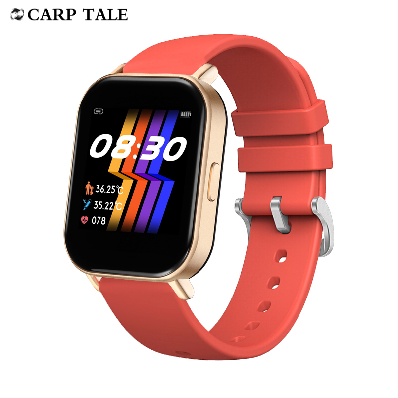 smart watch women 2020 waterproof body temperature Heart Rate Tracker PPG women's watches for Android ios Bluetooth 4.0