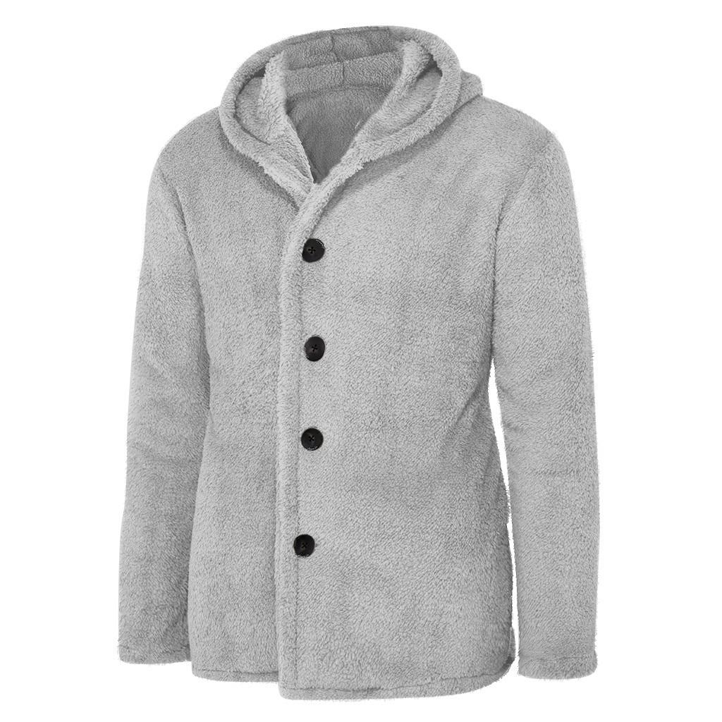 Bomber Jacket Men Winter Thick Warm Fleece Teddy Coat for Mens SportWear Tracksuit Male Fluffy Fleece Hoodies Coat Outwear warm 3