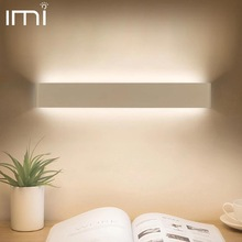 Light-Fixture Wall-Lamp Stair Bedside LED Bedroom Hallway Living-Room Minimalist Modern