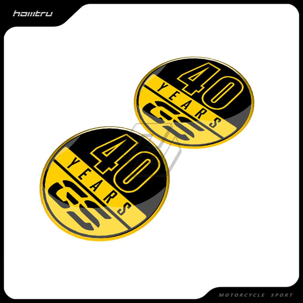 Motorcycle Tank Pad Sticker Case for BMW 40 Years GS Decals F700GS F800GS F850GS R1200GS R1250GS etc