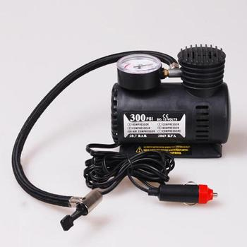 New 12V 300PSI Car Auto Portable Mini Electric Air Compressor Kit for Ball Bicycle Minicar Tire Inflator Pump Car Accessories image