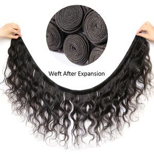 Image 2 - HJ Weave יופי גוף גל שיער טבעי חבילות עם סגירת 8 30 32 34 38 אינץ 7A רמי שיער ברזילאי שיער Weave חבילות