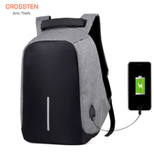 USB Charge Anti-theft Bag Laptop Rucksack Travel Backpack Women Large Capacity Business College Student School Shoulder Bags(China)