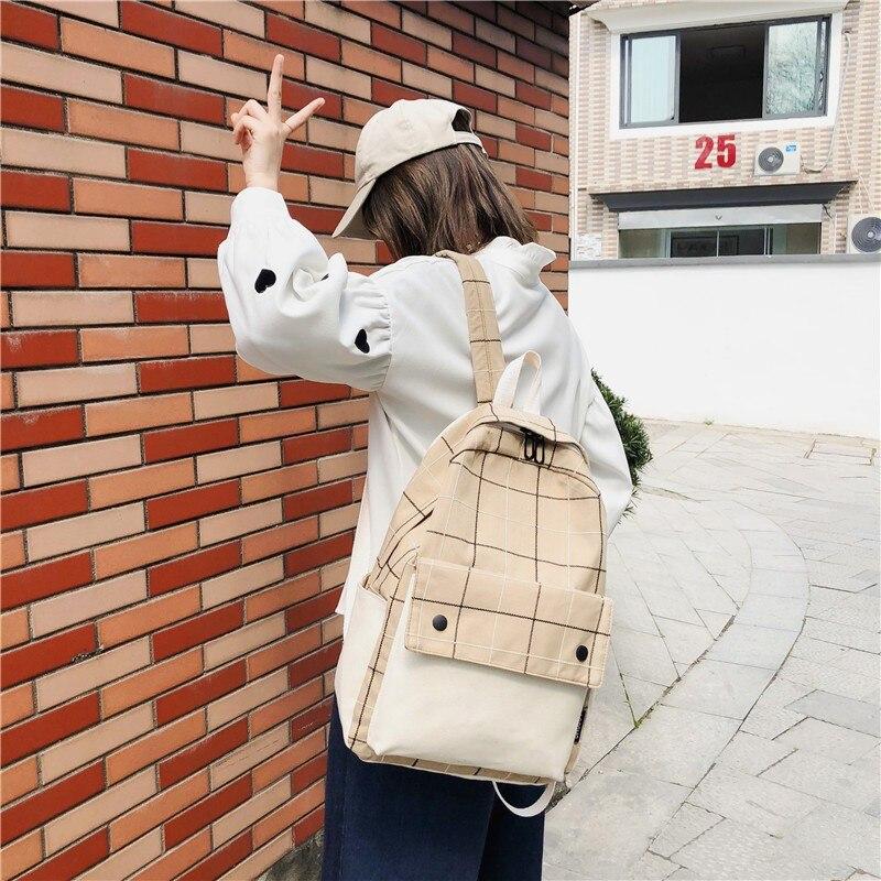 Fashion Backpack Women Backpacks Vintage Summer School Bag For Teenage Girlsl Travel Bagpack Student Bagpack Women Rucksack 2020