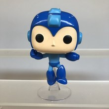 Funko POP Bekas Amine Rocket Raccoon Vs Megaman-Mega Man Batu Pria Vinyl Action Figure Collectible Model Longgar Mainan tidak Ada Kotak(China)